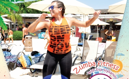 Zumba Fitness with Eva Stylianou on August 26th